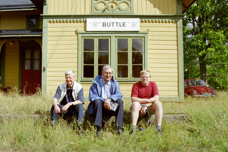 Buttle stationsbygning